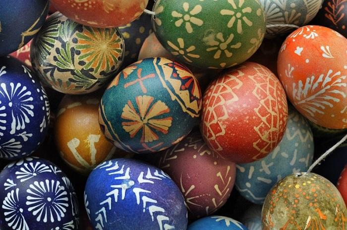 هفت سین و تخم مرغ