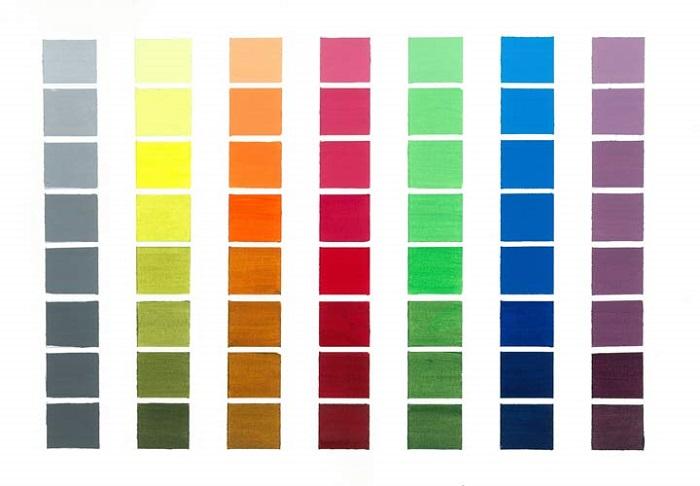 ست کردن رنگ ها