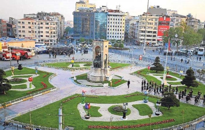 منطقه تکسیم استانبول
