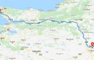 فاصله آنکارا تا استانبول