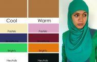 چه رنگ روسری به پوست گندمی میاد؟
