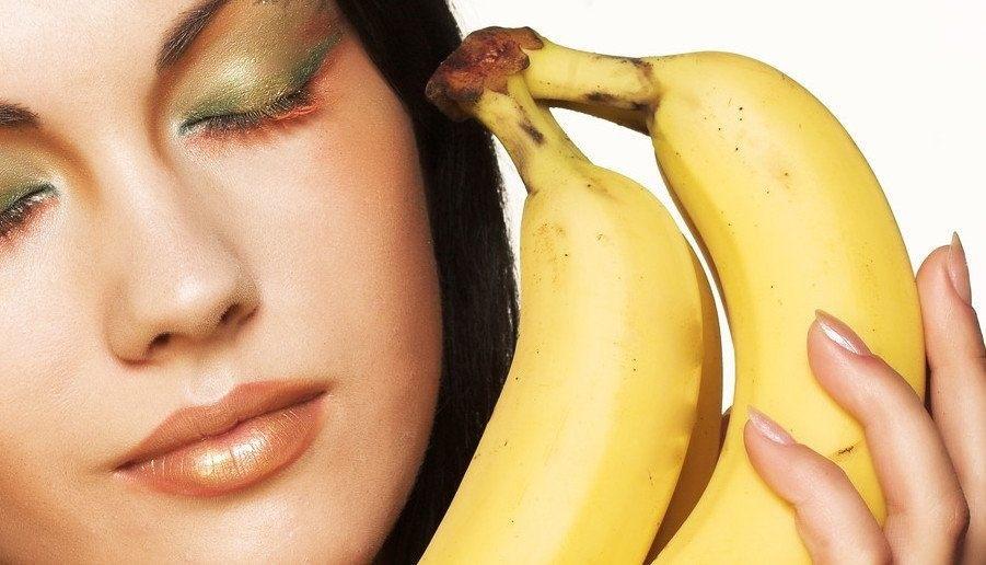 پوست موز برای کاهش لکه های پوستی
