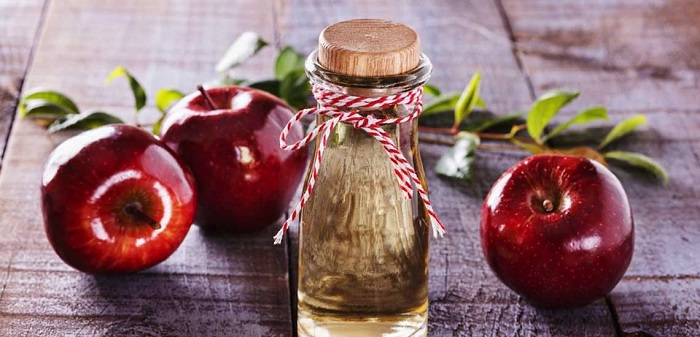 درمان کیست مویی با سرکه سیب