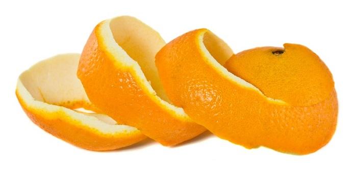 رفع تیرگی با پوست پرتقال