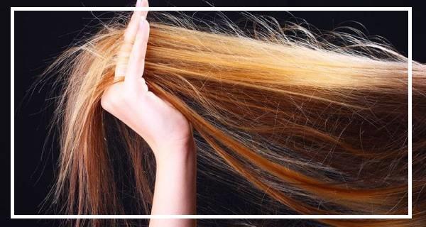 سرکه برای موهای خشک