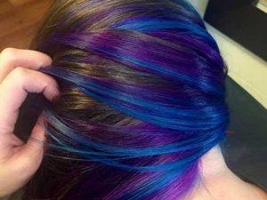 رنگ مو و زیبایی مو