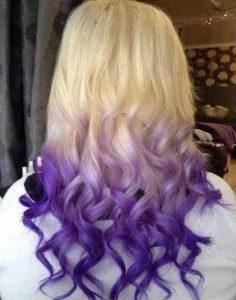 رنگ موی فوق العاده زیبا