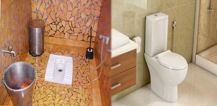 توالت فرنگی یا توالت ایرانی ؟ کدام را انتخاب کنیم؟